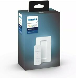 Philips Hue Smart Wireless Dimmer Switch V2 (Installation-Free, Exclusive for Ph