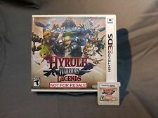 Not For Resale Nintendo 3DS Hyrule Warriors Legends Demo Zelda NFR