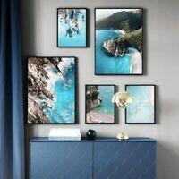 Poster Coastline Sea Beach Canvas Wall Art Picture Painting Nature Landscape