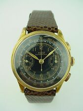 VINTAGE TISSOT CHRONOGRAPH TELEMETRE ANTIMAGNETIQUE 1930s Black Dial Watch