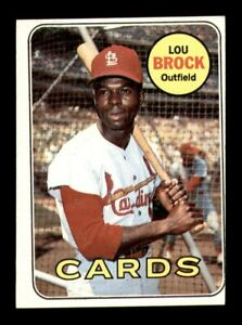 1969 Topps Set Break # 85 Lou Brock VG-EX *OBGcards*