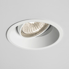 ASTRO 5739 Minima Adjustable GU10 Fire Rated Recessed Ceiling Downlight White