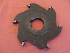 Utd Carbide Tipped Side Milling Cutter 5 X .7/16 X 1 1/4 No Teeth: 6