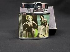 Vintage Cigarette Lighter Pin-Up Sexy Girl  Picture ASL Superior Quality Design