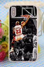 Michael Jordan Basketball NBA Bulls Hard Cover Case For iPhone Huawei Galaxy 7