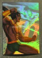 1995 Flair Marvel Annual X-Men Holoblast Hologram #11 Namor vs Llyron