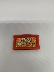 pokemon rosso Fuoco ORIGINALE game boy Advance GBA