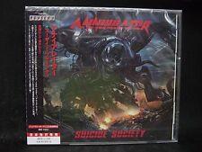 ANNIHILATOR Suicide Society JAPAN CD Vital Remains Nexus Savatage metalist