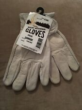 Rocky Mountain Gloves - cowhide. Men's extra large. White.