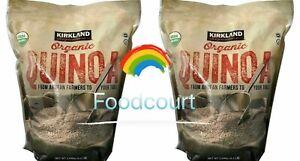 2 Packs Kirkland Signature Organic Quinoa 4.5 LB Each Pack
