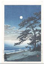 Japanese woodblock print, Hasui Kawase. Lot 466