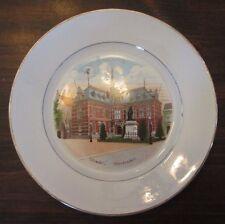 Utrecht Universiteit Collector Plate Societe Ceramique Maestricht Holland
