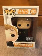 Funko POP EXCLUSIVE Dryden Voss #253 Solo Star Wars Vinyl Figure ON HAND