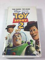 Toy Story 2 (VHS, 2000) Disney Pixar Tom Hanks Tim Allen#BB1