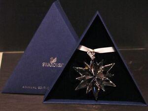 Swarovski Large SNOWFLAKE Christmas Ornament 2017 Crystal #5257589 NEW In BOX