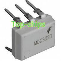 10Pcs MOC3020 DIP-6 FSC DIP6 Optoisolators Transistor Output NEW GOOD QUALITY D4