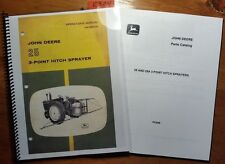 John Deere 25 3-Point Hitch Sprayer Owner Operator Manual OM-B25129 j4 + Parts