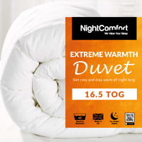 16.5 Tog Duvet EXTREME Warm Duvet Winter Quilt Single/Double/King Size