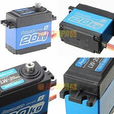 Power HD 20KG 277.7oz Torque Waterproof Digital Servo  LW-20MG RC Car truck new