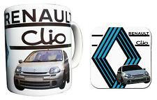 Renault Clio Mug & Coaster