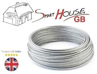 5mm Stainless Steel AISI316 Wire Rope A4 Marine Grade Cable 7x19 Price Per Meter
