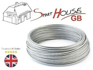 3mm Stainless Steel AISI 316 Wire Rope A4 Marine Grade Cable 7x7 Price Per Meter