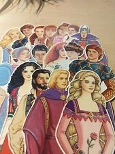 1986 Peck-Gandre Prince Charming Paper Dolls + Many More 082320