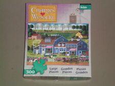 BUFFALO 300 Large Piece Jigsaw Puzzle - PRAIRIE WIND FLOWERS (CHARLES WYSOCKI)