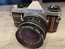 PENTAX ME Super Vintage 35mm Film SLR Camera with 28mm f1:2.8 Lens  EXCELLENT