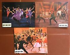WEST SIDE STORY Robert Wise NATALIE WOOD Goerge Chakiris 3 Photos *