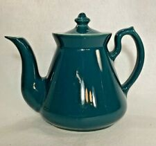 Hall Made in USA Philadelphia 6 Cup Teapot Teal Green