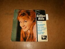 GILLIAN HILLS - EP FRENCH BARCLAY 70352  - ONLY COVER NO RECORD