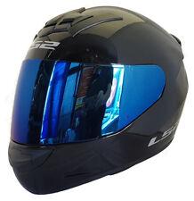 LS2 Helmet Motorbike Fullface Ff352 Rookie Solid Black S