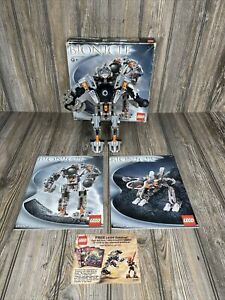 LEGO Bionicle Warriors 8557: Exo-Toa (complete) w/ Original Instructions And Box