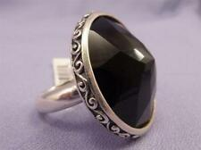 Brighton Sterling Silver Black Onyx DUOMO Ring Size 7