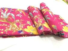 Indian Hand Block Print Dressmaking Cotton Fabric Craft Sewing By 5.Yard