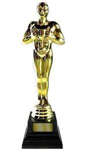 Golden Oscar Academy Award Statue Lifesize Cardboard Cutout – 183cm