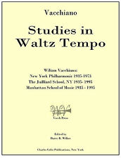 Vacchiano: Studies in Waltz Tempo Dist. by Charles Colin Publications