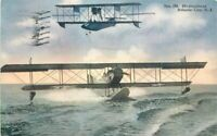 1922 Atlantic City New Jersey Hydroplane Aircraft Show Amusement Postcard
