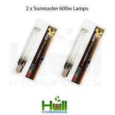 2x Sunmaster 600w Dual Spectrum Grow Light Bulb Lamp