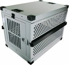 Extreme Rugged Folding Dog Crate- Collapsible Travel Carrier (Choose - S/M/L/Xl)