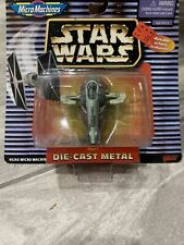 STAR WARS MICRO MACHINES DIE CAST I BOBA FETT'S SLAVE 1  SHIP