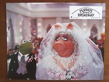 PHOTO D'EXPLOITATION CINEMA LE MUPPETS SHOW MARIAGE KERMIT ET PIGGY