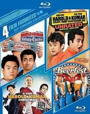 4 Film Favorites Blu-ray set: Harold & Kumar Christmas, White Castle, Guantanamo