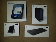 HP Touchpad Bundle - 32GB Touchpad, Charging Dock, Case, Wireless Keyboard, More