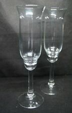 New listing Mid Century Modern Bell Champagne Flute Set Of 2