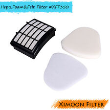 Hepa,Foam & Felt Filter for Shark Xff350 Navigator Nv350 NV351 Nv352 NV355 NV356