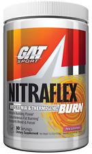 GAT Nitraflex Burn Pre-Workout + Thermogenic Fat Burner 30 Serving FREE SHIPPING