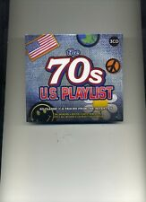 THE 70S U.S. PLAYLIST - ISLEY BROTHERS DRIFTERS HEART MEATLOAF - 3 CDS - NEW!!