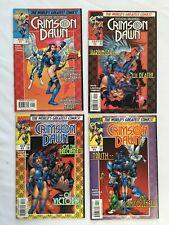 Psylocke and Archangel Crimson Dawn #1 -4 (1997) Marvel Comics X-Men